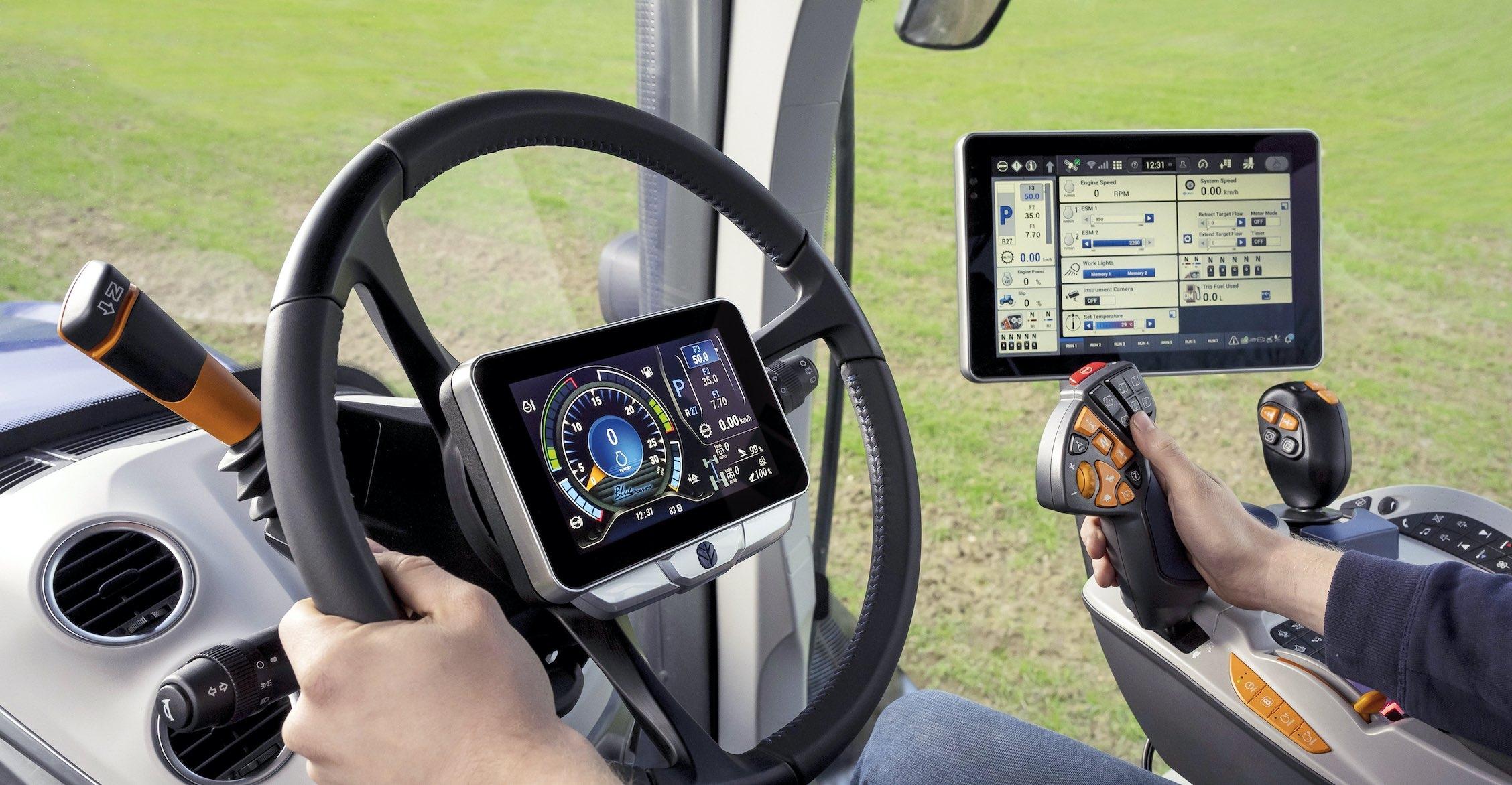 L'écran CentreView est installé au centre du volant