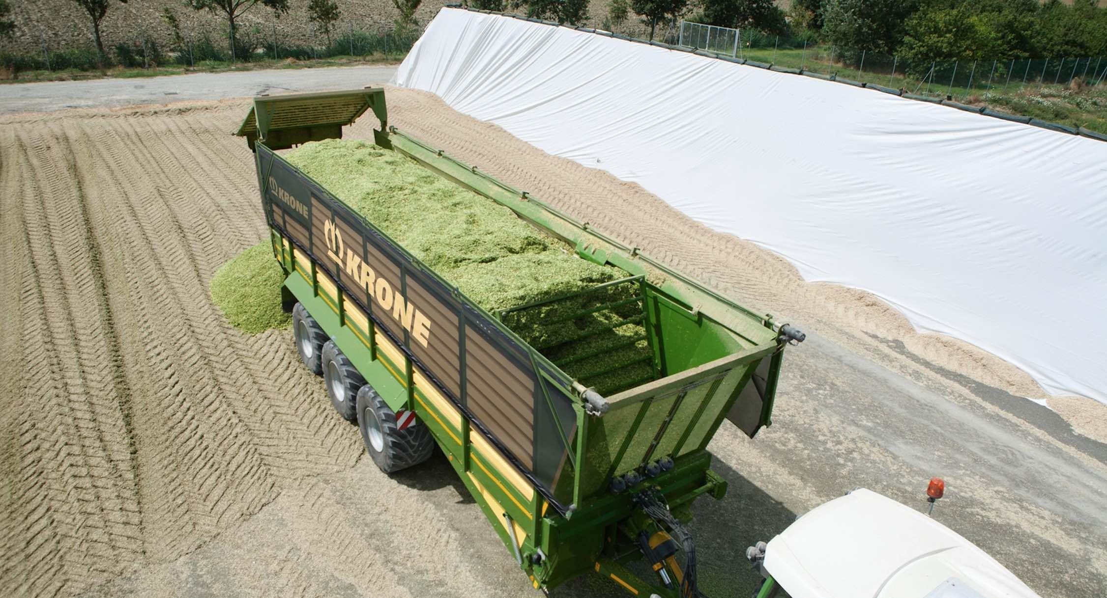 L'adjonction de rouleaux démêleurs permet d'optimiser la confection des silos