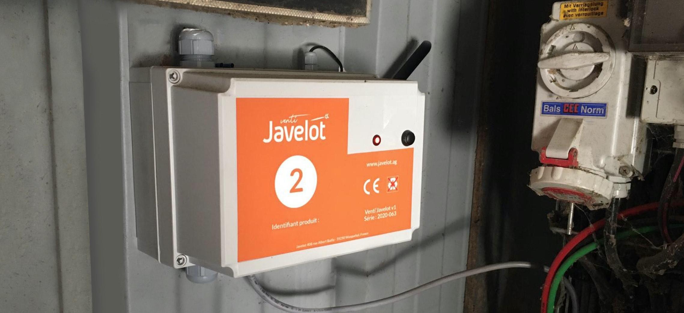 Venti'Javelot permet de trouver le bon équilibre entre refroidissement du grain et dépense d'énergie (Crédit photo : Javelot)