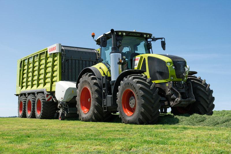 Le Cemos permet d'optimiser l'ensemble tracteur-outil en minimisant la consommation et en maximisant le rendement horaire. (Ctédit photo : Claas)