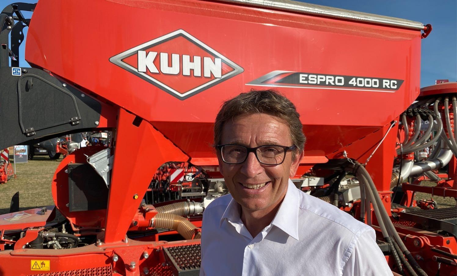 Christian Fischer, directeur commercial du groupe Kuhn : « en trente ans de carrière, je n'ai jamais vu cela »