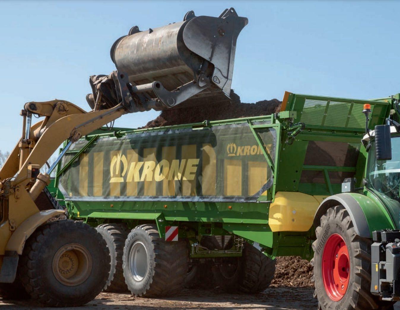 Grains, tubercules, ensilage, fumier, compost, big bag, palettes : les GX sont polyvalentes