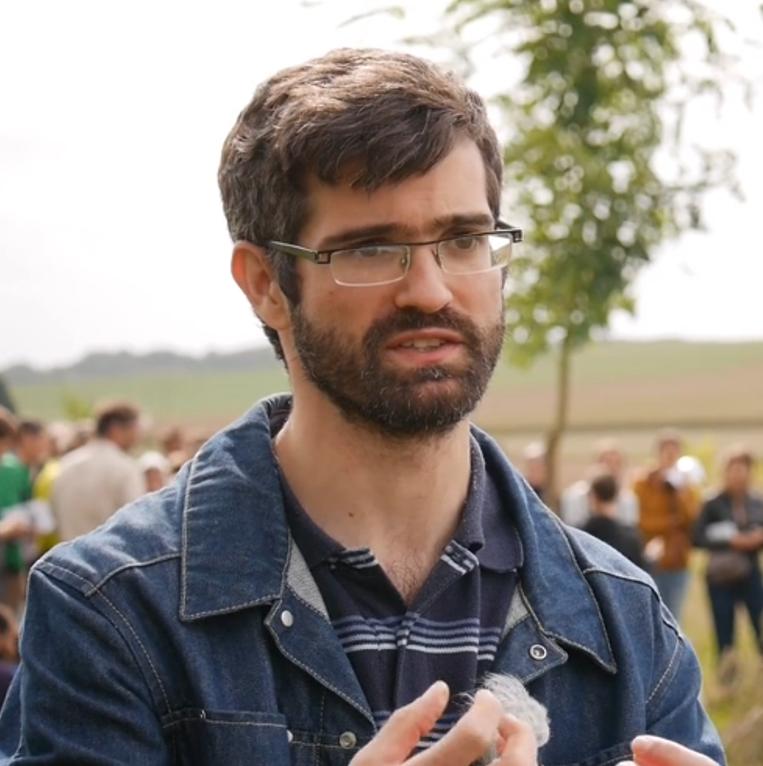 Fabien Balaguer, directeur de l'Association française d'agroforesterie (Crédit photo : AFAF)