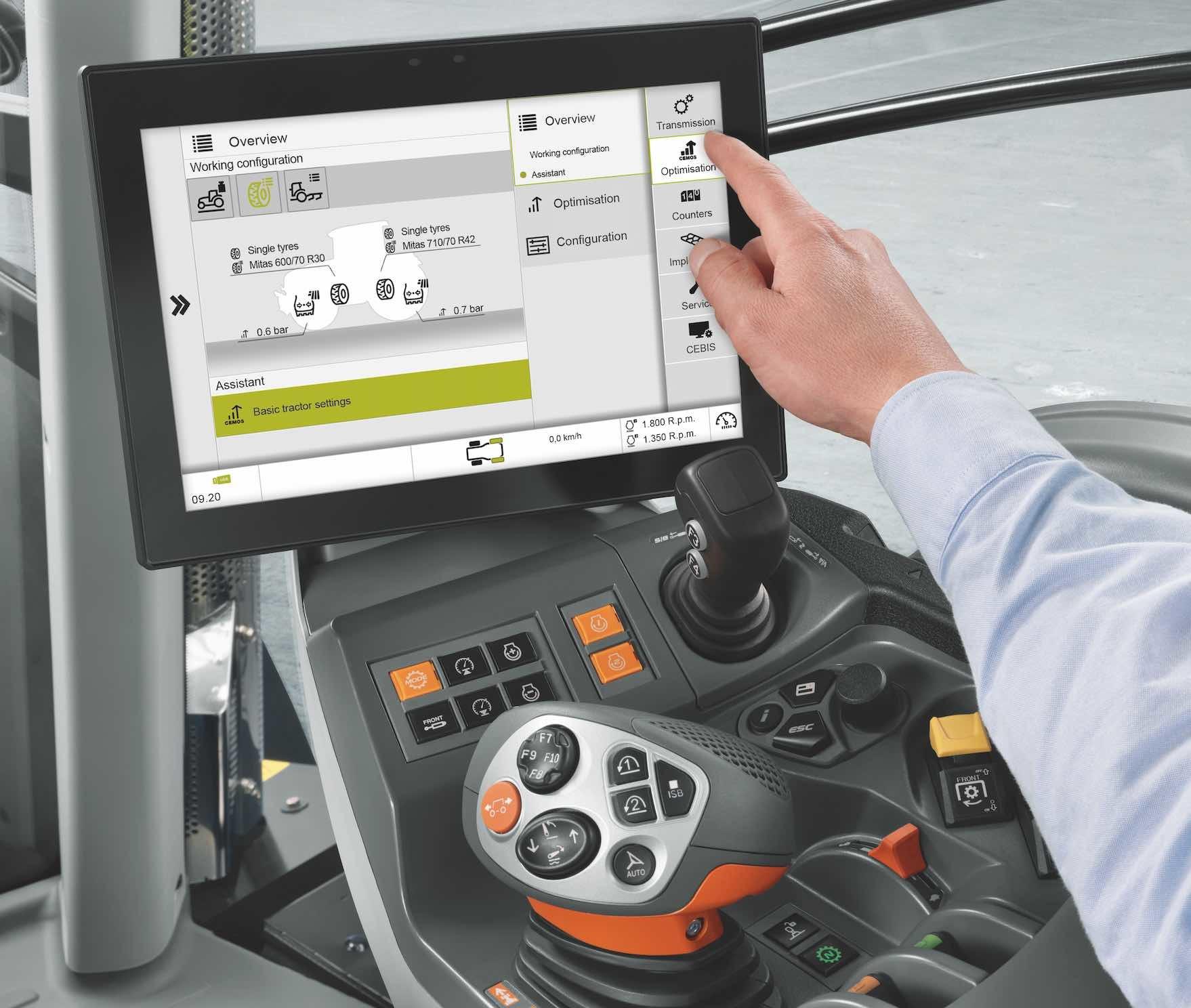 Tout au long du travail, le Cemos indique diverses propositions d'optimisation et que le conducteur était libre de prendre en compte ou non